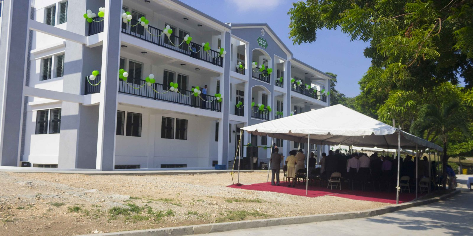 STEP a inauguré son bâtiment académique